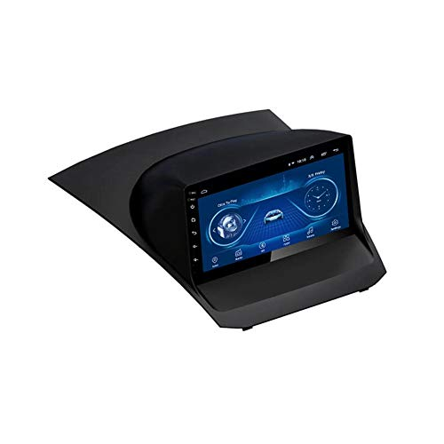 Foof Android 9.1 Car Radio for Ford Fiesta 2009-2017 Car Stereo GPS Navigation 9 Inch Touch Display Car Media Player Support WiFi Steering Wheel Control,2009~2012,4G WiFi 2G+32G