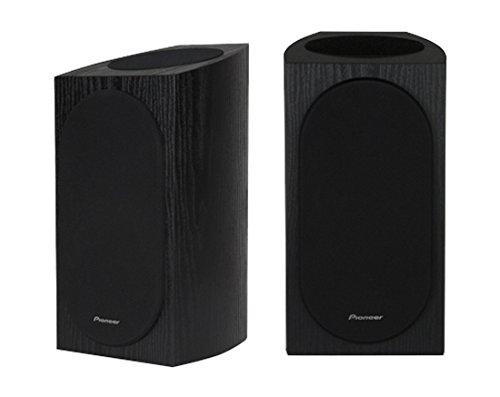 Pioneer SP-BS22A-LR Andrew Jones Home Audio Bookshelf Speaker, Dolby Atmos Enabled (Set of 2) - Black