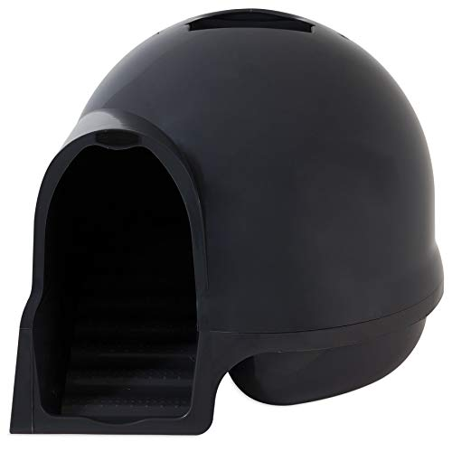 Booda Clean Step Litter Box in Dark Grey, Standard