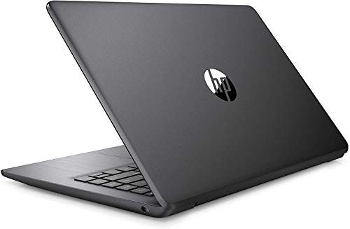 2021 HP Stream 14' HD Thin and Light Laptop, Intel Celeron N4000 Processor, 4GB RAM, 64GB eMMC, HDMI, Webcam, WiFi, Bluetooth, 1 Year Office 365, Windows 10 S, Brilliant Black, W/ IFT Accessories