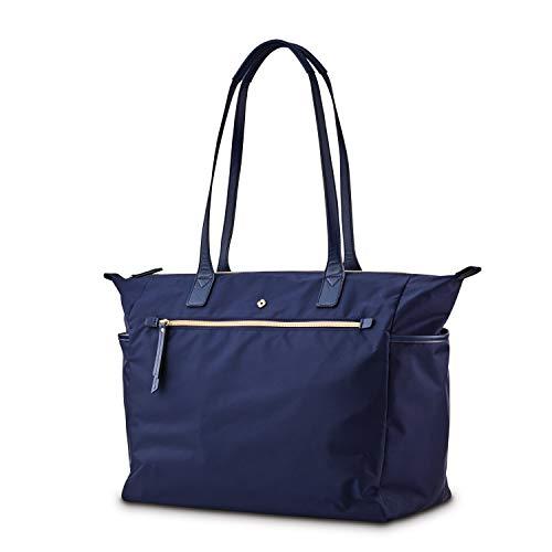 Samsonite Women's Mobile Solution Business Travel (Navy Blue, Deluxe Carryall)