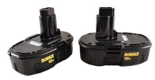DeWALT DC9098 18v NICD Low Profile Battery 2 Pack