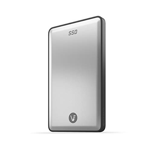 VectoTech Rapid 4TB External SSD USB-C Portable Solid State Drive (USB 3.1 Gen 2) – Up to 540MB/s Data Transfer, 3D NAND Flash