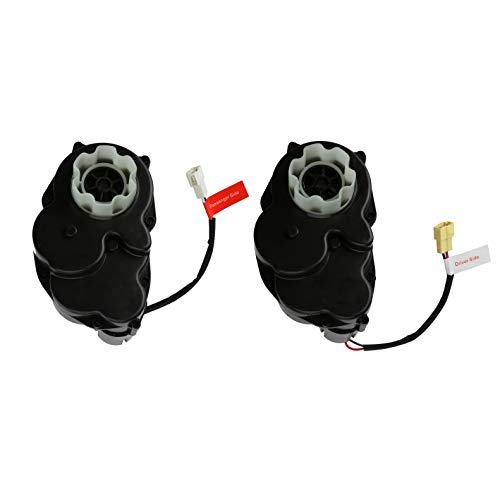 RAYMONT Pair of Gearbox 12 Volt Motor for Kid Trax Kids Ride On Power Car Wheels KIA Sing-A-Song Disney Mickey Minie Mouse Couper Mini Cooper S