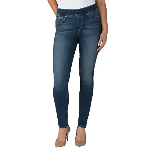 Signature by Levi Strauss & Co. Gold Label Women's Totally Shaping Pull-On Skinny Jeans, Harmony, 2
