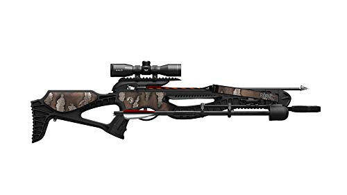 Barnett Wildcat Camo Recurve Crossbow | Recurve Crossbow with Scope, Arrows & Quiver, Strike