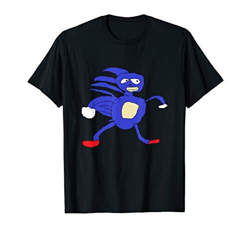 Sanic Hegehog Shirt | Gotta Go Fast Sanik Paint Meme Shirt