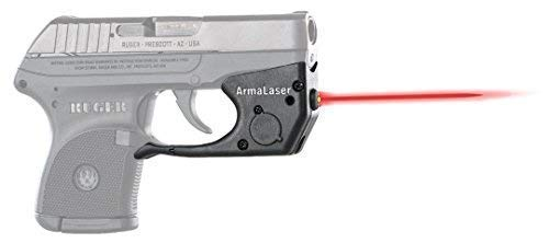 ArmaLaser Designed to fit Ruger LCP TR2 Super-Bright Red Laser Sight with Grip Activation
