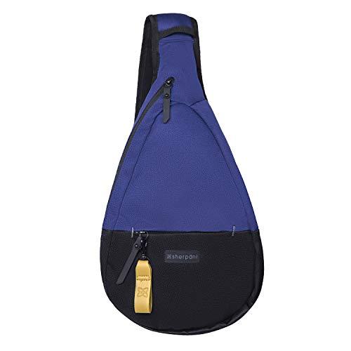 Sherpani Esprit, Essential Nylon Sling Bag, Shoulder Sling Bag, Crossbody Sling Backpack for Women, with RFID Protection (Atlantic)
