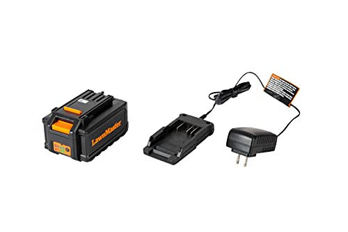 LawnMaster 518348 24V MAX 4.0Ah Lithium-Ion Battery & Charger Combo