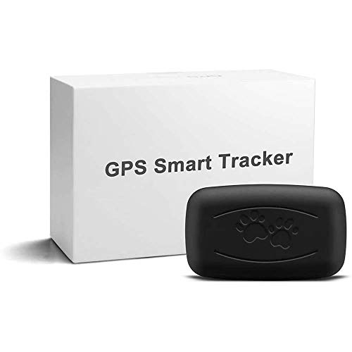 LMHOME GPS Pet Tracker, Real Time Dogs Cats Locator Finder - Waterproof|Alarm|, Security Fence|Remote Monitoring - Fits for All Android iOS Devices