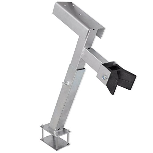 Festnight Adjustable Boat Trailer Winch Stand with a Capacity of 1100-2200 pounds