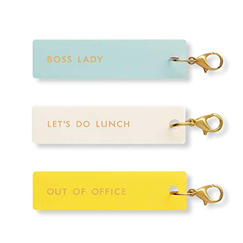 Kate Spade New York Planner Accessories Charm Set of 3 - Boss Lady