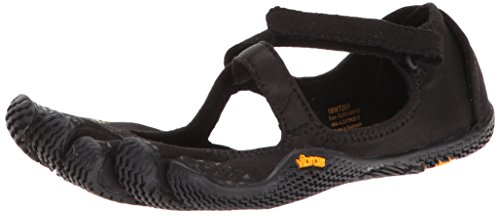 Vibram Five Fingers Women's V-Soul Fitness and Cross Training Yoga Shoe (37 EU/7-7.5, Black)