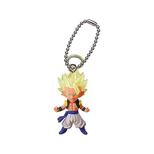 Bandai Gashapon Dragon Ball UDM Best 26 Figure Swing Keychain~SS Gogeta