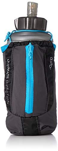 Ultimate Direction Clutch, Handheld Running Water Bottle with Zipper Storage for Men & Women, Night Sky