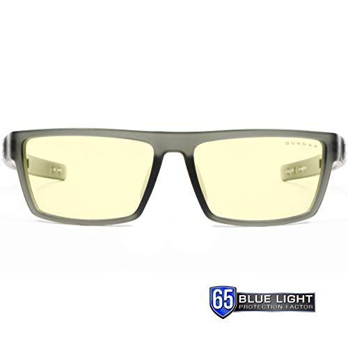 GUNNAR Gaming and Computer Eyewear /Valve, Amber Tint - Patented Lens, Reduce Digital Eye Strain, Block 65% of Harmful Blue Light