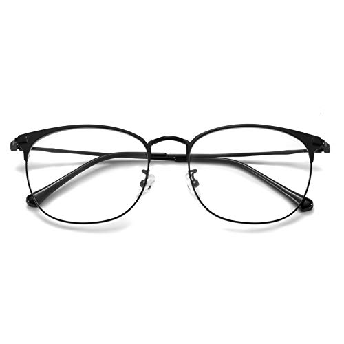 Blue Light Blocking Glasses for Women Men, Clear Lens Eyeglasses, Office Working Computer Glass (T7099 C4)
