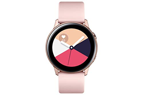 Samsung Galaxy Active Smartwatch 40mm with Extra Charging Cable, Rose Gold - SM-R500NZDCXAR (Renewed)