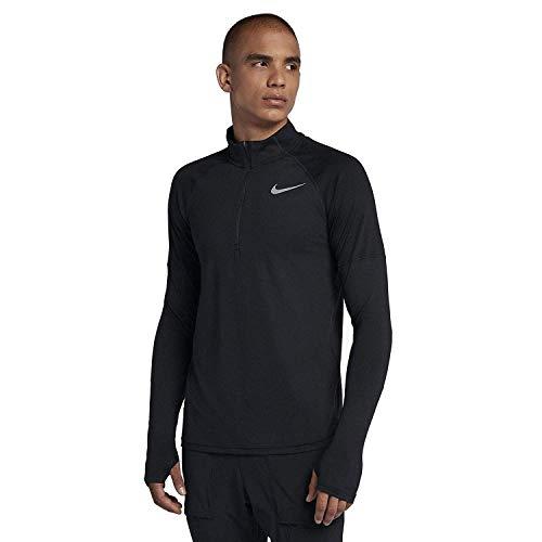 Nike Men's Element 1/2 Zip Running Top Black Size Medium