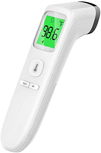 Forehead Thermometer | Infrared Thermometer Ideal for Babies, Children, and Adults | Temperature Gun