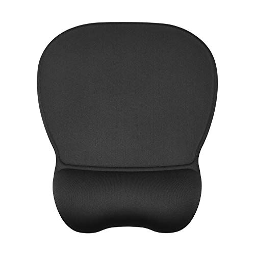 JSD Gel Mouse Pad with Wrist Support Wrist Rests 9.45×8.07×0.2 inches (1 Pack)