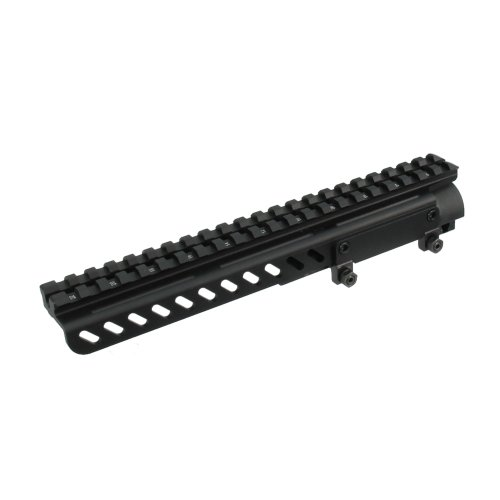 UTG PRO SKS Receiver Cover Mount w/22 Slots, Shell Deflector