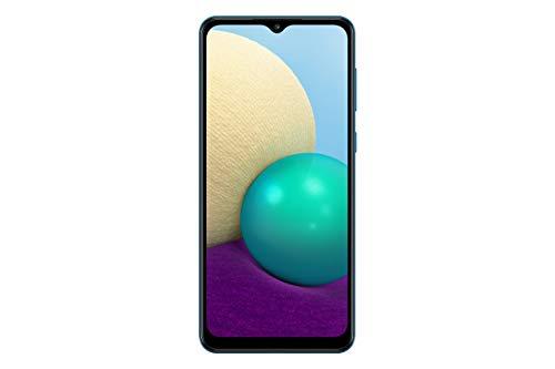 Samsung Galaxy A02 SM-A022M/DS, 4G LTE, International Version (No US Warranty), 64GB, 3GB, Blue - GSM Unlocked (At&t Tmobile Metro Latin Europe)