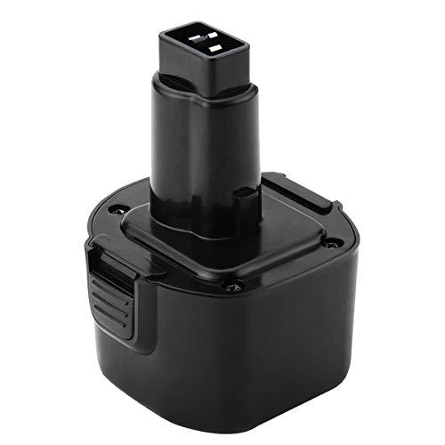 Shentec 9.6V 3.0Ah Battery Compatible with Dewalt 9.6V DW9062 DW9061 DE9036 DE9061 DE9062 DW9614 DW050 and Black & Decker PS120 Fire Storm Replacement Power Tool Battery Ni-MH