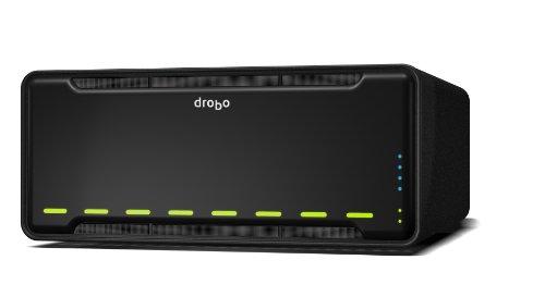Drobo B810i - 8 Bay SAN Storage Array for Business- iSCSI x 2 Ports (DR-B810I-3A21)