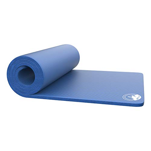 """Foam Sleep Pad- 0.75"""" Thick Camping Mat for Cots, Tents, Sleeping Bags & Guests- Non-Slip, Lightweight, Waterproof & Carry Handle by Wakeman Outdoors"""