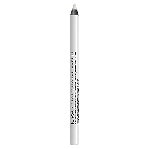 NYX PROFESSIONAL MAKEUP Slide On Pencil, Waterproof Eyeliner Pencil, Pure White