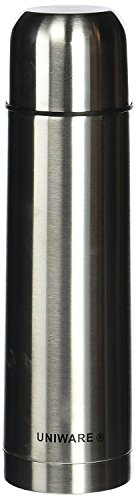 Uniware 2407 Stainless Steel Vacuum Flask Coffee Bottle/Thermos (Silver)