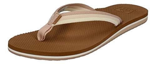 Reef Women's Sandals Voyage Lite Beach | Comfortable Flip Flops for Women | Natural Ombre | Size 10
