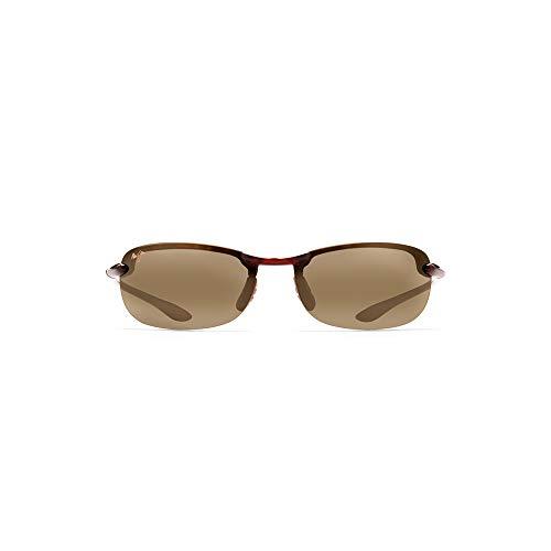 Maui Jim Makaha w/ Patented PolarizedPlus2 Lenses Polarized Sport Sunglasses, Tortoise/Hcl Bronze Polarized, Medium