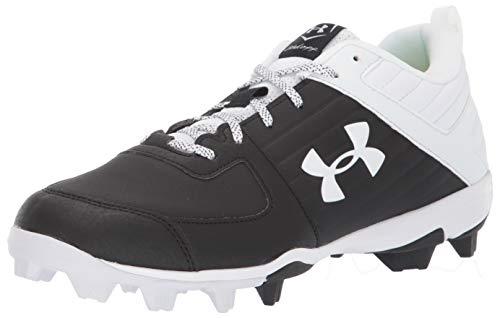 Under Armour Men's Leadoff Low RM Running Shoe, Black (001)/White, 8.5
