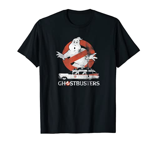 Ghostbusters No Ghost with Ecto Vector T-Shirt