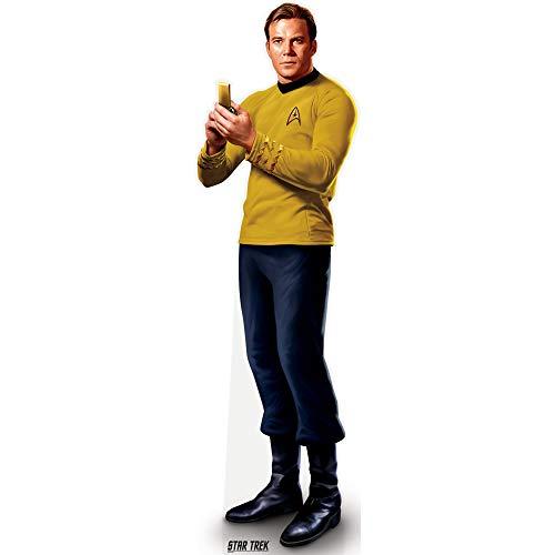 Prime Party Captain Kirk Cardboard Cutout Life Size Standee | Star Trek Original Series Collectible Merchandise