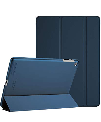 ProCase iPad 2 3 4 Case (Old Model) – Ultra Slim Lightweight Stand Case with Translucent Frosted Back Smart Cover for Apple iPad 2/iPad 3 /iPad 4 –Navy