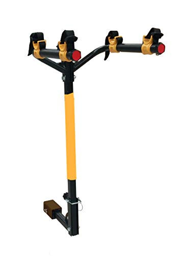 MAXXHAUL 50025 Hitch Mounted 2-Bike Rack-100 lb Capacity