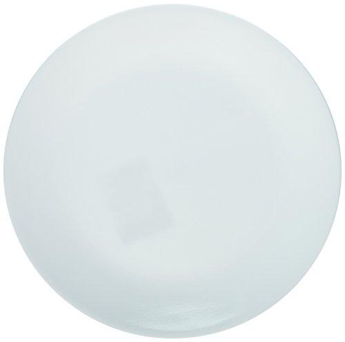Corelle Winter Frost Plates White Dinner 10-1/4' Dia. (Pack of 6), 1-Pack