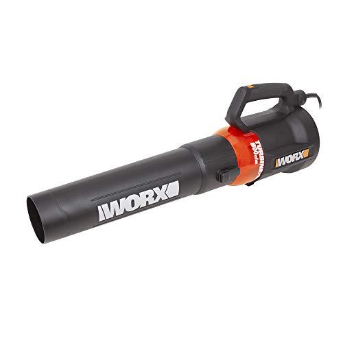 WORX WG521 12A Turbine, 800 CFM Corded Electric Blower, Black