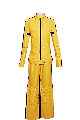 WonderPlay Kill Bill The Bride Beatrix Michelle Kiddo Tailored Cosplay Costume Yellow