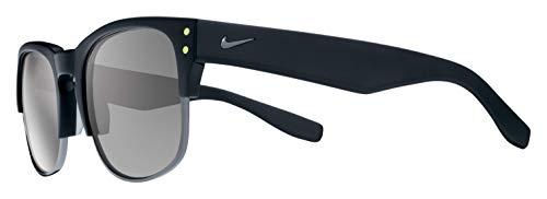 Nike Volition Round Sunglasses, Matte Black/Gunmetal, One Size
