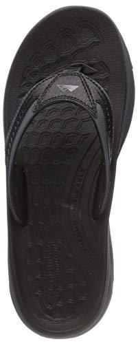 Columbia Men's Molokai III Sport Sandal, Black, Graphite, 12 Regular US