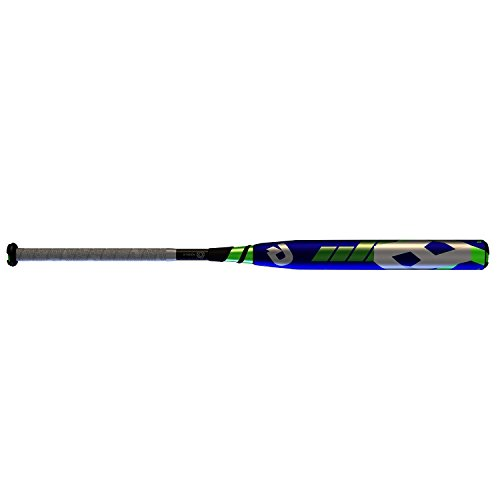 Wilson Demarini 2016 CF8 Insane Fastpitch Bat (-10), Purple/Optic Green/White, 34'/24 oz