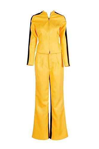 Kill Bill Cosplay The Bride Beatrix Michelle Kiddo Costume Full Set S