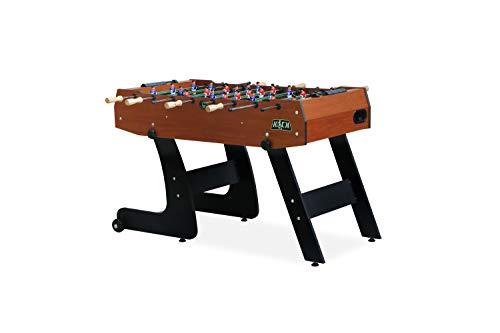KICK Monarch 48' Folding Foosball Table (Brown)