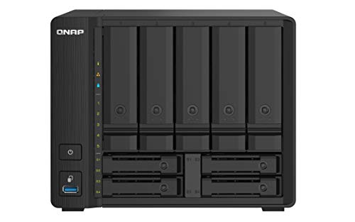 QNAP TS-932PX-4G 5+4 Bay High-Speed NAS with Two 10GbE and 2.5GbE Ports