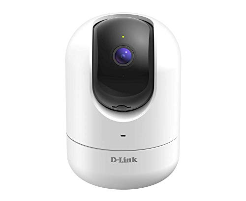 D-Link Security WiFi Smart Camera Full HD Pan/Tilt Wireless Security, Motion & Night Vision, 2 Way Audio, Cloud & Local Recording, Amazon Alexa Google Assistant (DCS-8526LH-US)